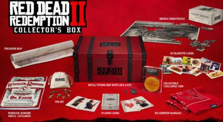 La Collector's Box  de Red Dead Redemption 2 no tendrá el juego