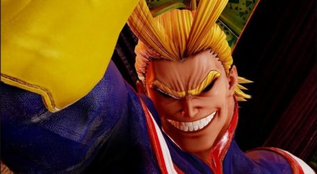¡All Might se une a Jump Force! El símbolo de la paz es el segundo DLC